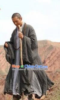 Chinese Ancient Tang Dynasty Eminent Monk Xuanzhuang Replica Costume for Men