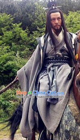 Chinese Ancient Tang Dynasty Swordsman General Xu Maogong Replica Costume for Men