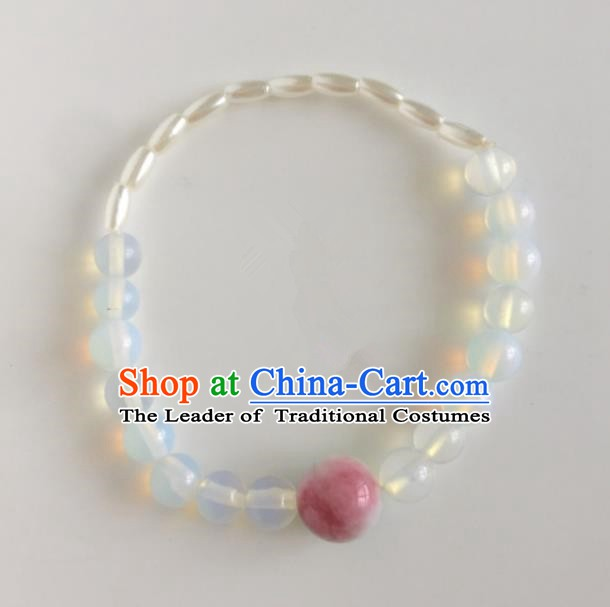 Traditional Chinese Ancient Jewelry Accessories Crystal Beads Bracelets for Women