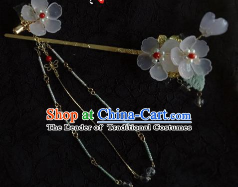 Traditional Chinese Ancient Hair Accessories Hair Clip Flowers Hanfu Hairpins for Women