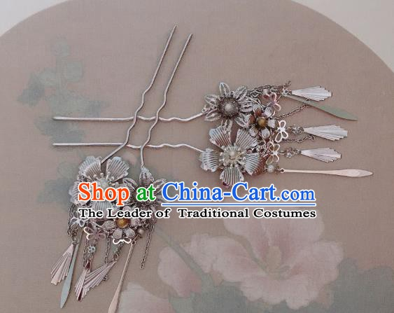 Traditional Chinese Ancient Hair Accessories Hair Stick Hairpins for Women
