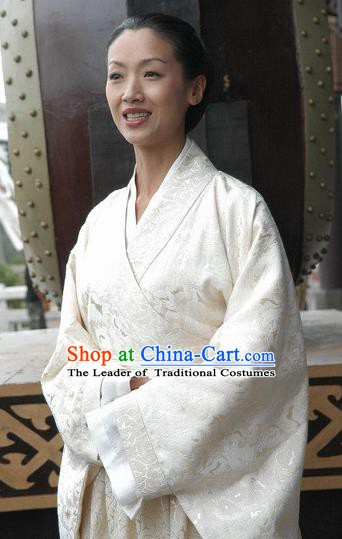 Traditional Chinese Ancient Northern Wei Dynasty Empress Dowager Feng Replica Costume for Women