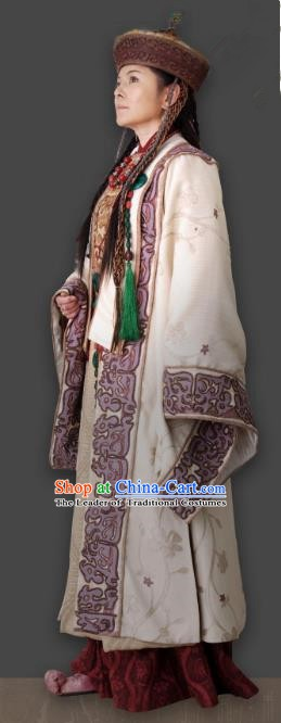 Chinese Ancient Qin Dynasty Queen Tu An Hanfu Dress Replica Costume for Women
