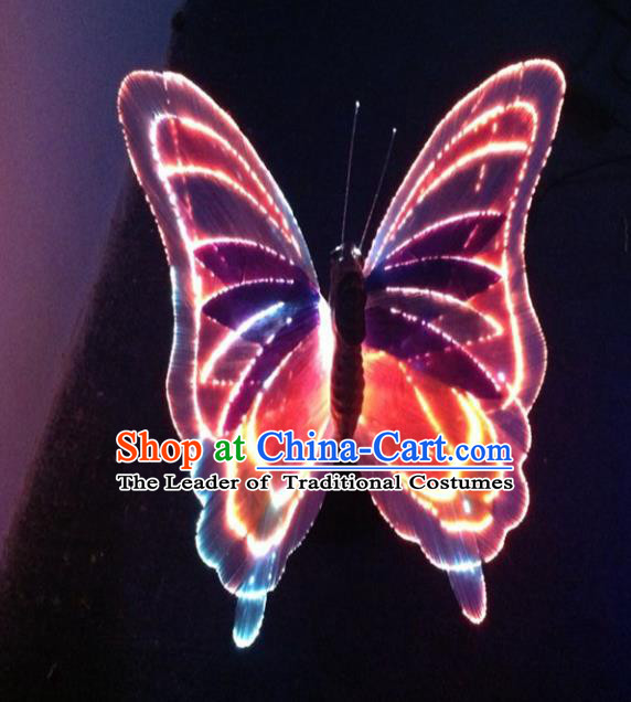 Traditional Handmade Chinese Butterfly Lanterns Electric LED Lights Lamps Desk Lamp Decoration