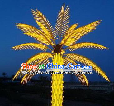 Traditional Handmade Coconut Palm Lanterns Electric LED Lights Lamps Lamp Decoration