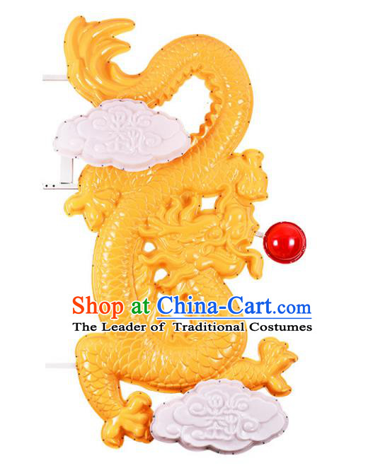Traditional Handmade Chinese Dragon Lanterns Spring Festival Electric LED Lights Street Light Lamp Decoration