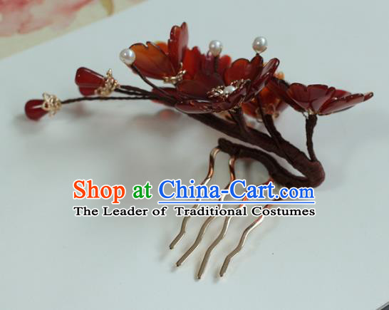 Traditional Chinese Ancient Hair Accessories Handmade Hair Clip Hanfu Hairpins for Women