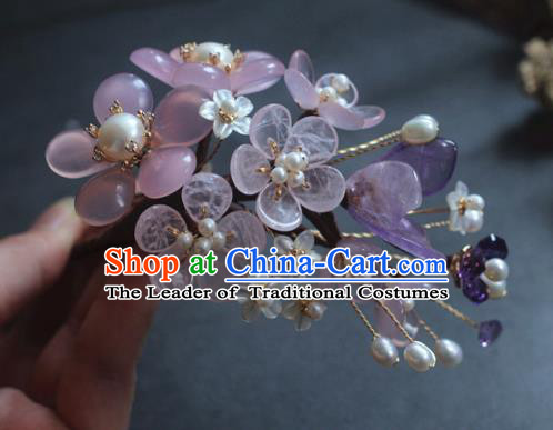 Traditional Chinese Ancient Hair Accessories Handmade Hair Claw Hanfu Hairpins for Women