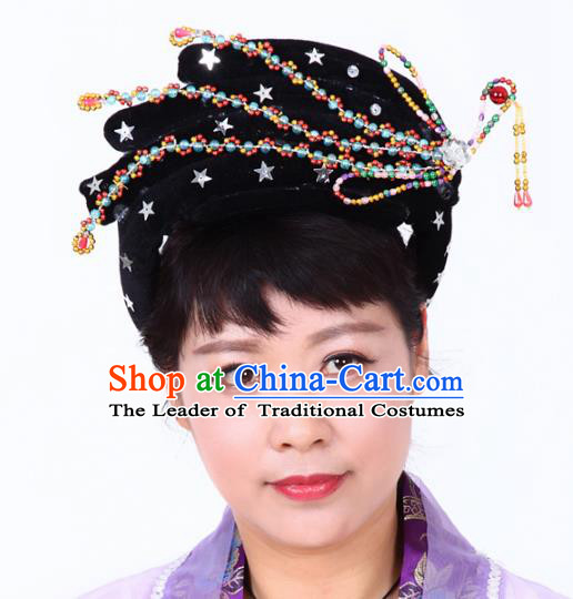 Chinese Traditional Classical Dance Hair Accessories Peking Opera Fairy Hairpins Headwear for Women
