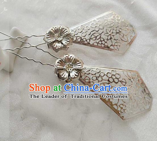 Chinese Traditional Ancient Hair Accessories Classical Handmade Hair Clip Hanfu Hairpins for Women