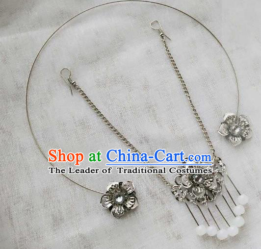 Chinese Traditional Ancient Hair Accessories Classical Hair Clasp Hanfu Hairpins for Women