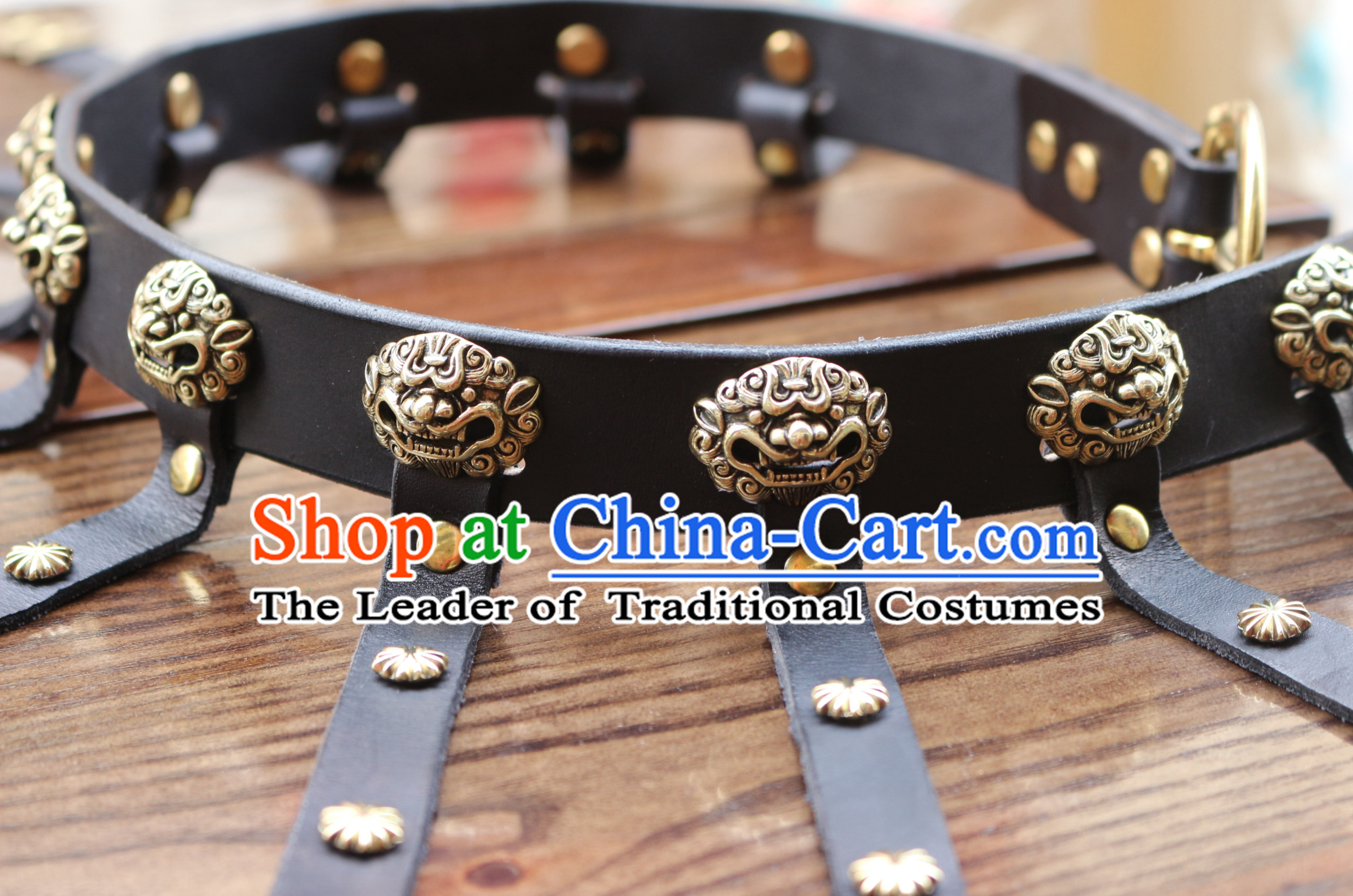Ancient Chinese Handmade Long Belt Set to Go with Long Robe