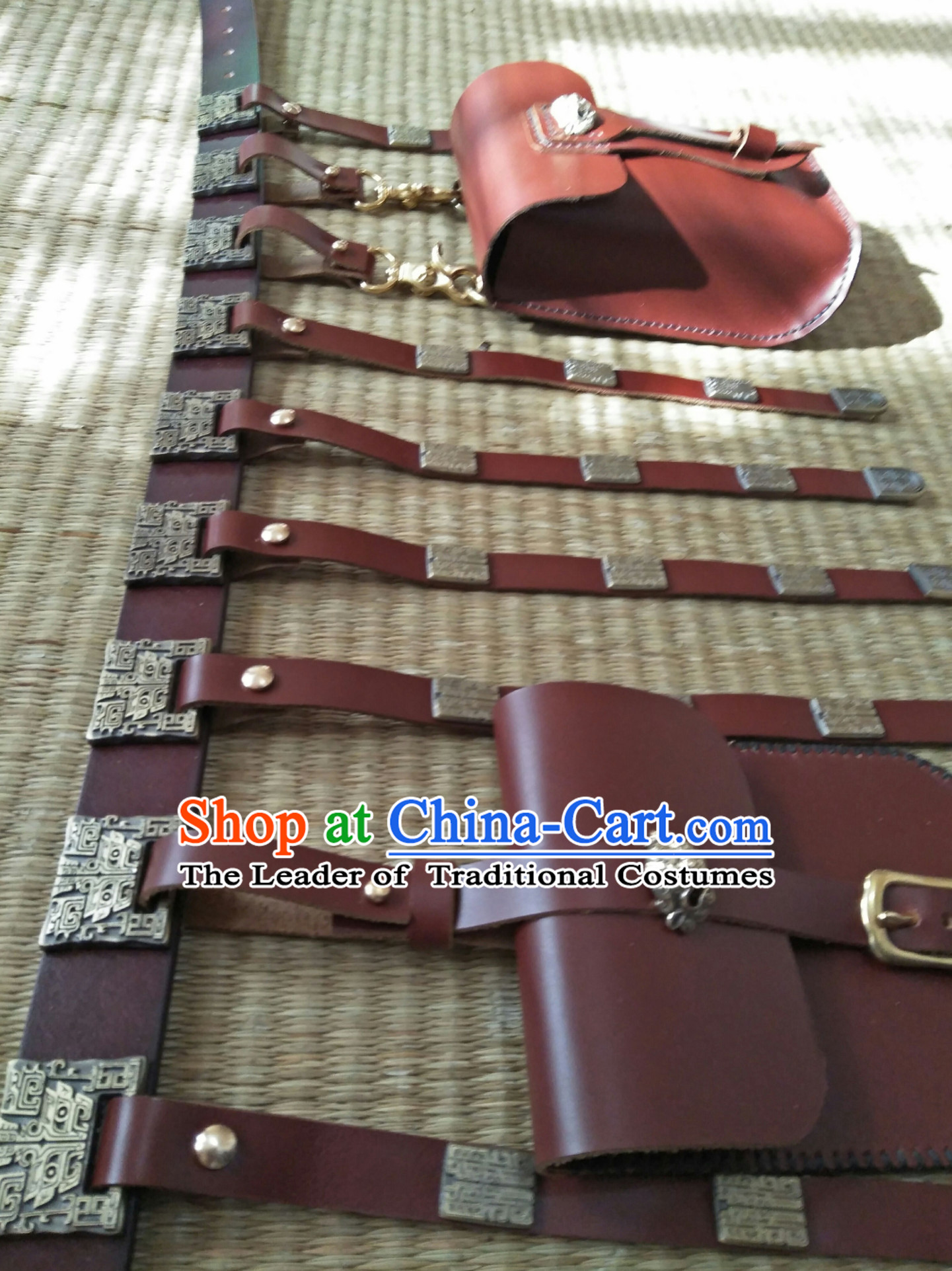 Ancient Chinese People Handmade Long Belt Set