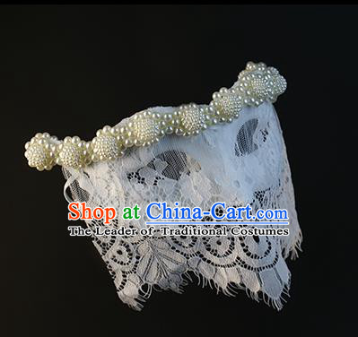 Halloween Exaggerated Pearls Mask Fancy Ball Props Stage Performance Accessories Christmas Mysterious Masks