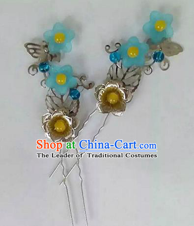 China Ancient Hair Accessories Hanfu Hair Clips Chinese Classical Hairpins for Women