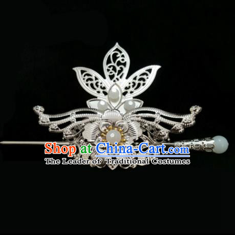 China Ancient Hair Accessories Hanfu Hairdo Crown Chinese Traditional Hairpins for Women