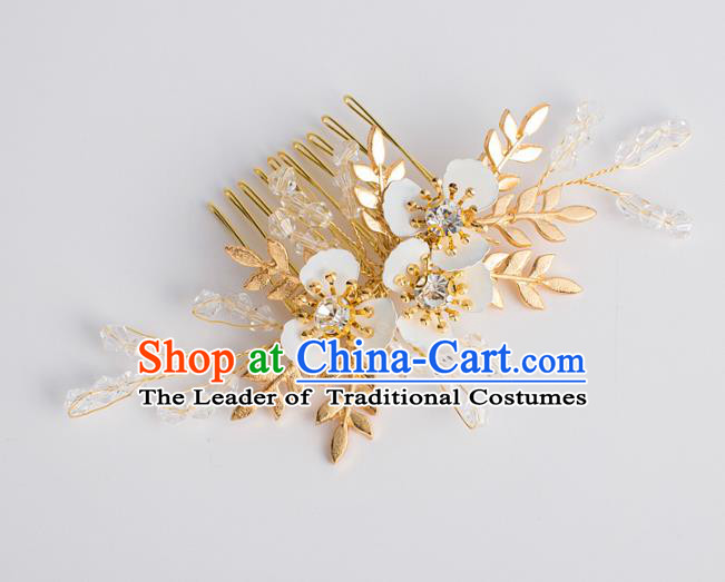 Chinese Ancient Bride Hair Accessories Xiuhe Suit Hairpins Hair Combs for Women