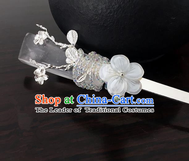 Traditional Handmade Chinese Ancient Classical Hair Accessories Crystal Hair Clip Hairpins for Women