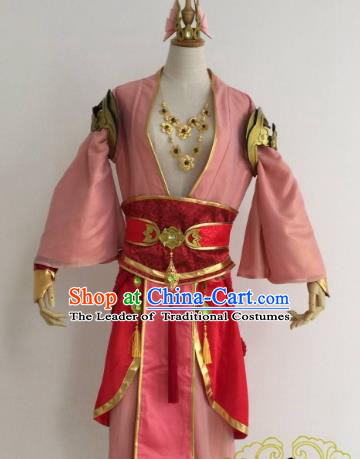 Chinese Ancient Knight-errant Embroidered Costume Swordsman Clothing for Men