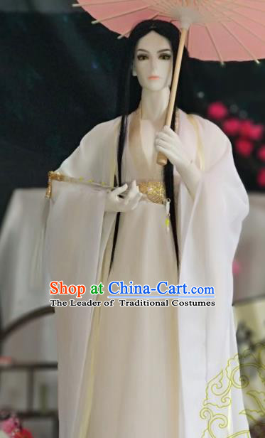 Chinese Ancient Nobility Childe Costume Cosplay Swordsman Royal Highness Clothing for Men