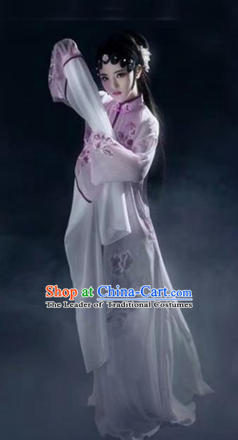 Chinese Traditional Beijing Opera Actress Hanfu Dress Ancient Palace Lady Costume for Women