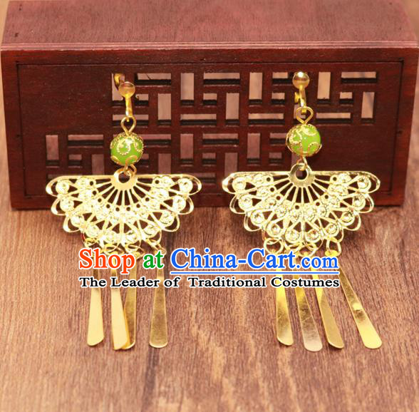 Traditional Chinese Jewelry Accessories Eardrop Ancient Hanfu Earrings for Women