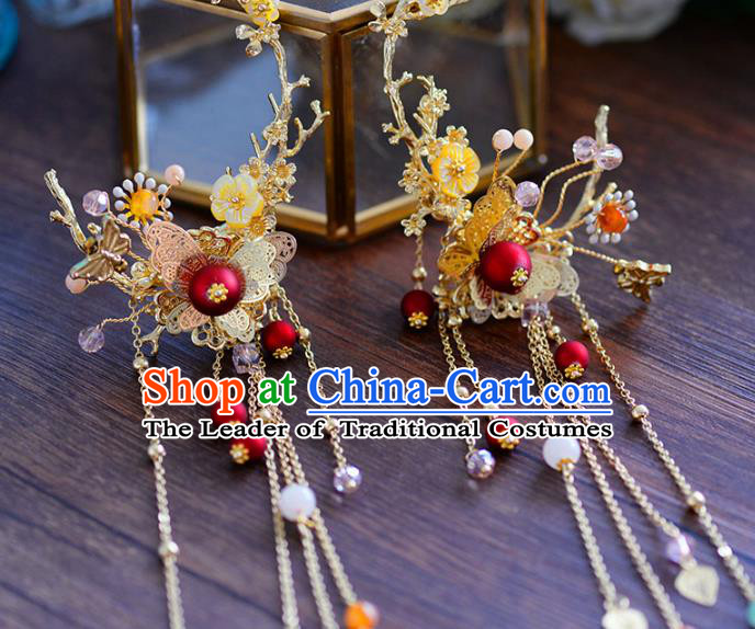 Chinese Traditional Handmade Hair Accessories Ancient Hairpins Hair Stick for Women