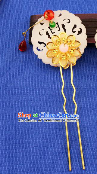 Chinese Traditional Xiuhe Suit Hair Accessories Hair Clips Ancient Bride Hairpins for Women
