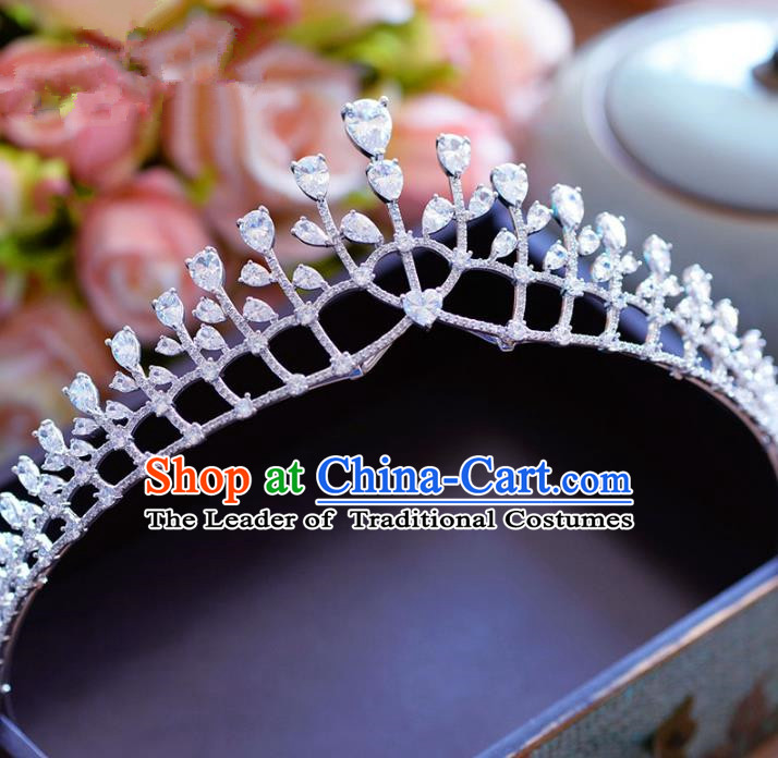Chinese Ancient Hair Jewelry Accessories Hairpins Headwear Headdress Royal Crown for Women