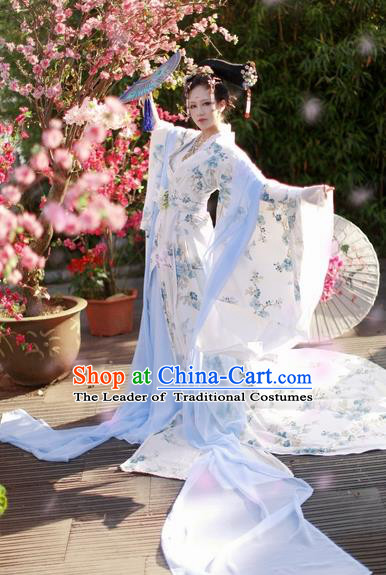 Chinese Ancient Imperial Concubine Costume Tang Dynasty Princess Hanfu Clothing for Women