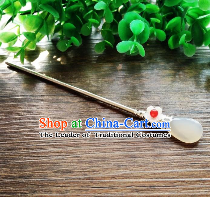 Chinese Ancient Handmade Hanfu Hair Clip Hair Accessories Classical Palace Hairpins for Women
