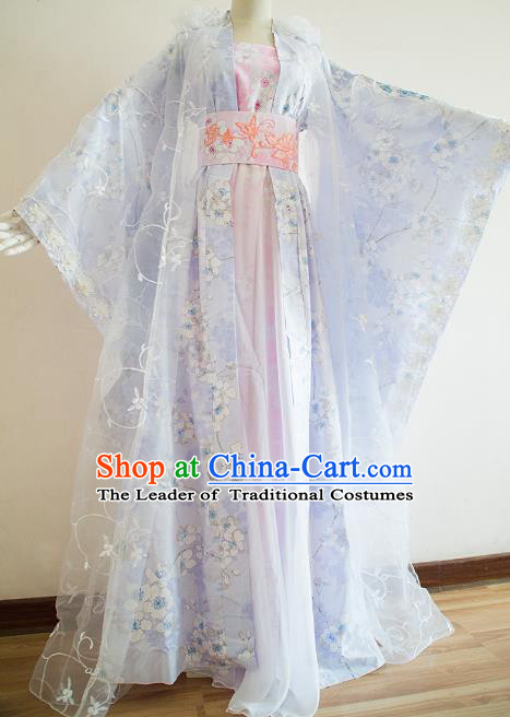 Chinese Ancient Cosplay Imperial Consort Hanfu Dress Traditional Song Dynasty Palace Princess Costume for Women
