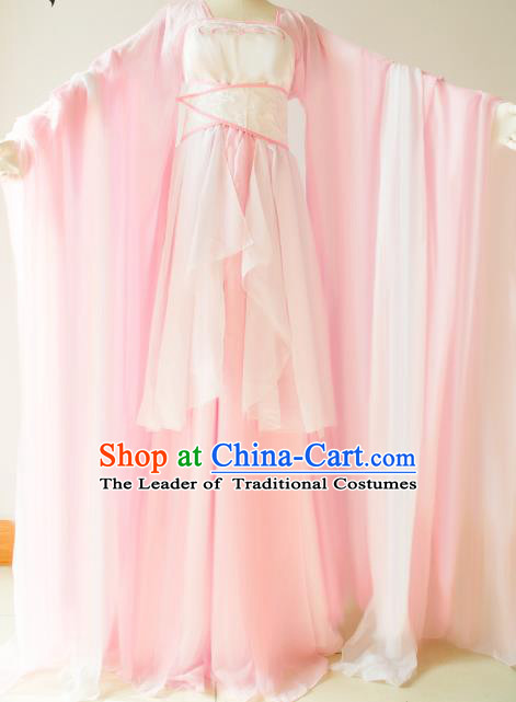 Chinese Traditional Han Dynasty Princess Hanfu Dress Ancient Cosplay Fairy Costume for Women
