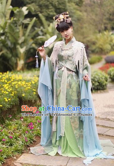 Chinese Ancient Cosplay Fairy Costume Song Dynasty Princess Hanfu Dress Clothing for Women