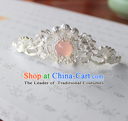 Chinese Ancient Handmade Hairdo Crown Hair Accessories Hanfu Hairpins for Women