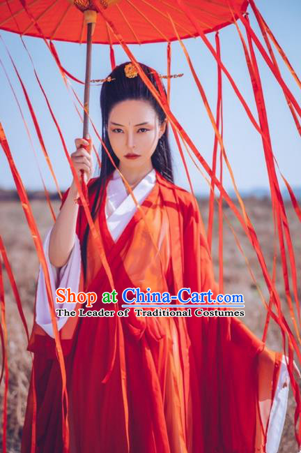 Chinese Ancient Palace Lady Hanfu Han Dynasty Imperial Concubine Queen Embroidered Historical Costumes for Women