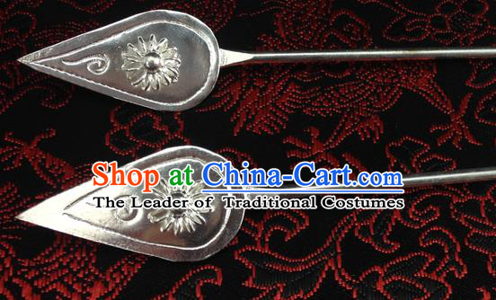 Traditional Chinese Miao Nationality Hanfu Hairpins Hair Accessories for Women