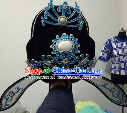 Chinese Traditional Beijing Opera Niche Offical Hat for Men
