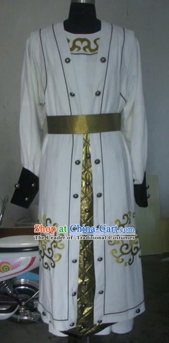 Chinese Traditional Beijing Opera Niche Costumes China Peking Opera Takefu Robe for Adults