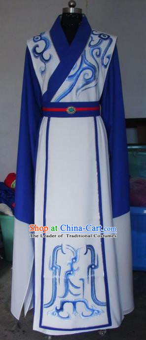 Chinese Traditional Beijing Opera Emperor Costumes China Peking Opera Niche Embroidered Clothing for Adults