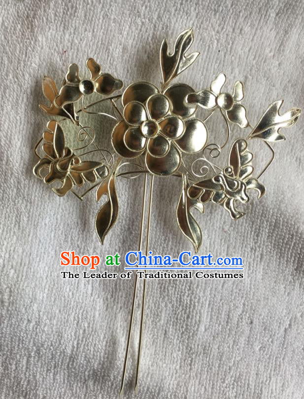 Chinese Traditional Ancient Hair Clip Hanfu Hairpins Hair Accessories for Women