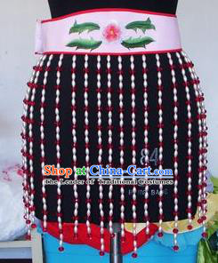 Chinese Traditional Beijing Opera Young Lady Waist Accessories China Peking Opera Beads Dress for Adults