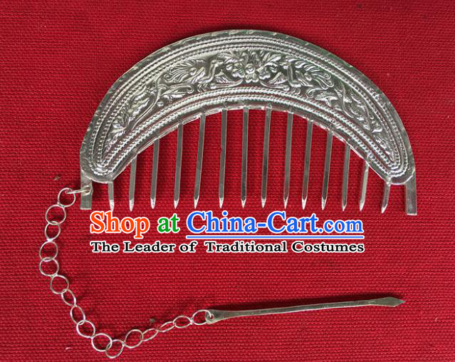 Chinese Traditional Ancient Bride Hair Comb Hanfu Hairpins Hair Accessories for Women