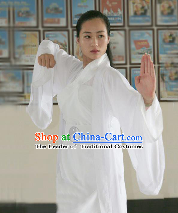 Chinese Traditional Martial Arts Costumes Tai Chi Taoist Kung Fu Clothing for Men for Women