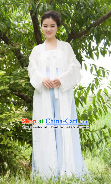Chinese Traditional Song Dynasty Swordswoman Costumes Ancient Nobility Lady Dress for Women