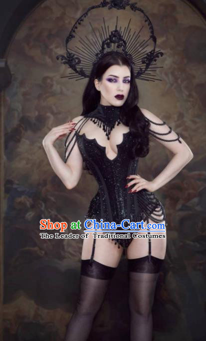 Top Grade Halloween Stage Performance Customized Costume Models Catwalks Clothing for Women