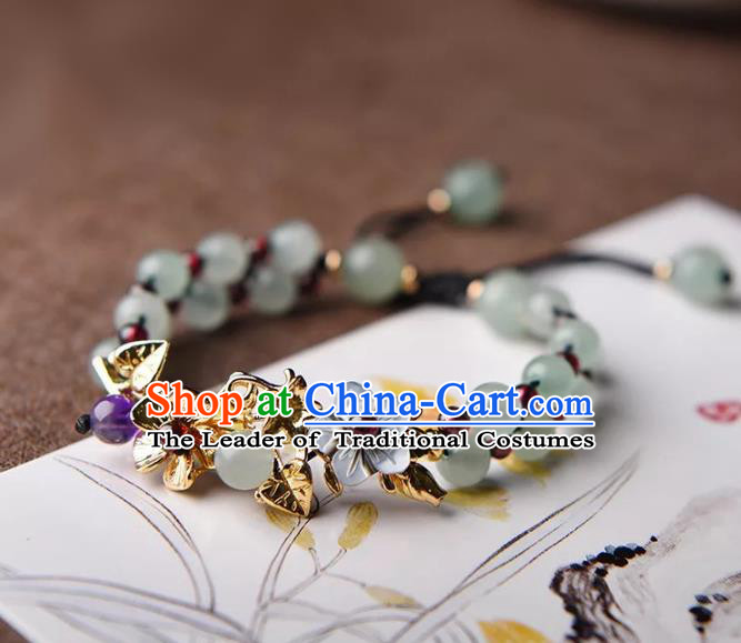 Chinese Traditional Jewelry Accessories Ancient Palace Hanfu Bracelet for Women