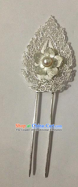 Chinese Traditional Ancient Flower Hairpins Hair Accessories Hair Clip for Women