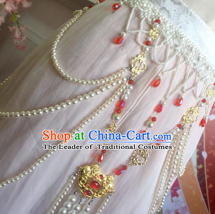 Handmade Chinese Ancient Tassel Waist Chain Wedding Waist Accessories for Women