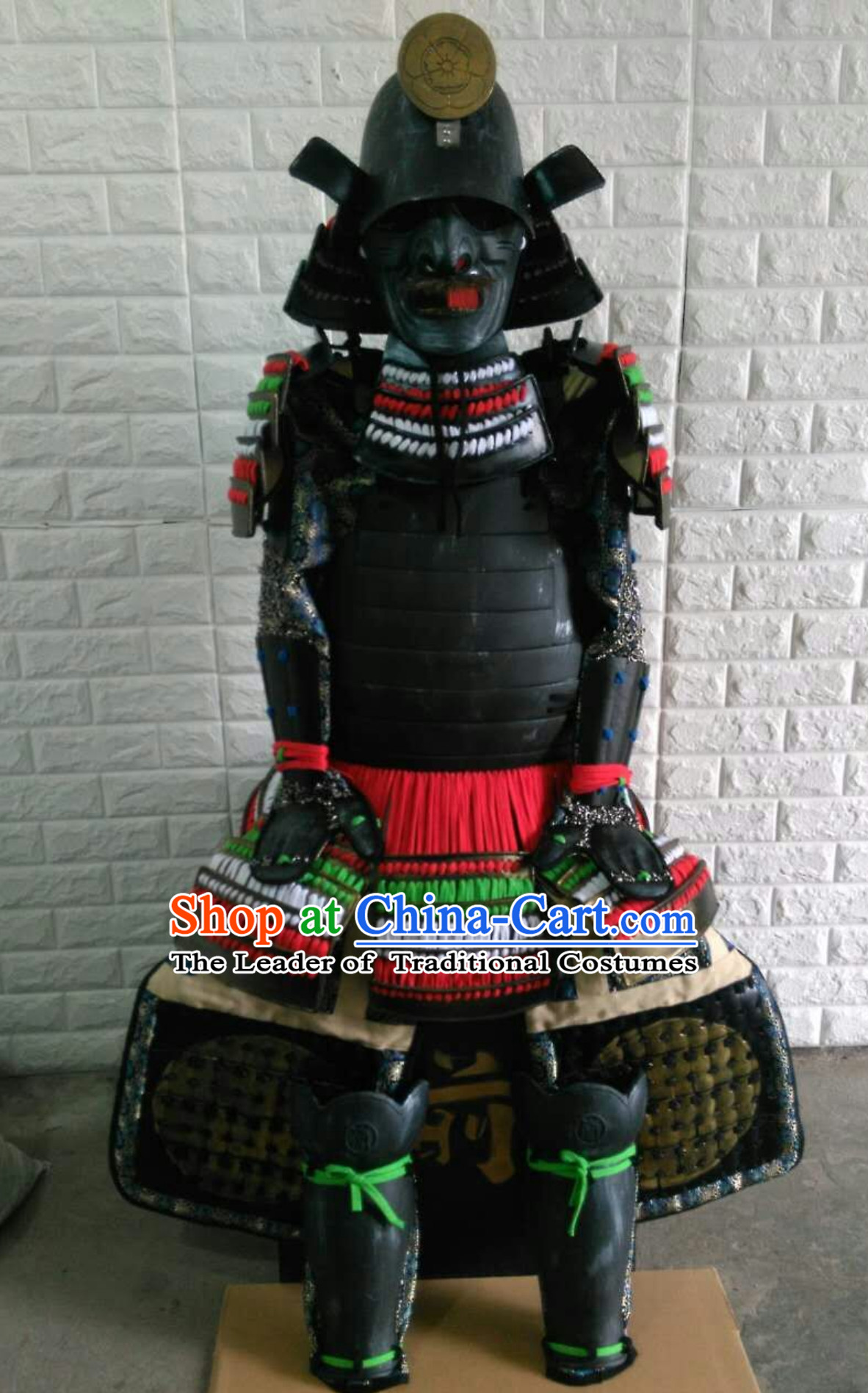 Authentic Japanese Samurai Armor Japanese Samurai Body Armor Custom Japanese Samurai Armor Mask and Body Armors Full Set